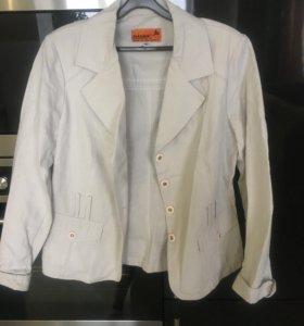 пиджак льняной новый