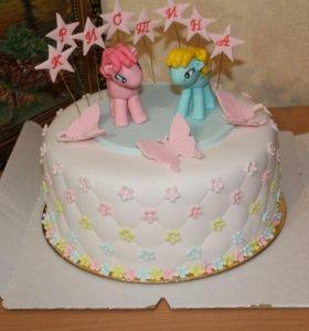 Торт для маленьких принцесс