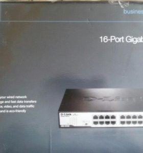 DLink DGS-1016D Свитч