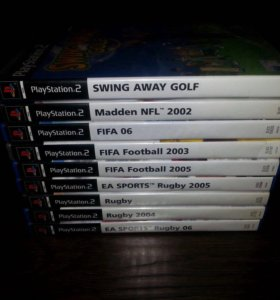 Лицензионные диски на Sony PlayStation 2