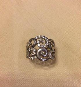 Кольцо серебро 16,5-17
