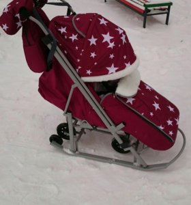 Санки-коляска Pikate