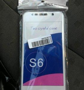 Двухсторонний чехол S6