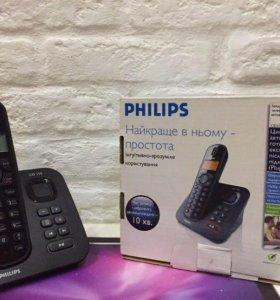 📞Радиотелефон. Phillips. Телефон.