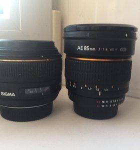 Sigma 30mm 1.4 для Nikon