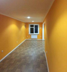 ремонт квартир,садов,офисных помещений.
