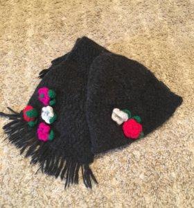 Комплект Sisley шарф и шапка