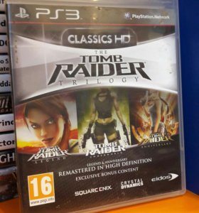 Tomb Raider Trilogy PS4 Sony Playstation 4