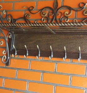 Кованая вешалка и др.на заказ перила,,ворота