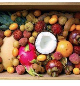 (Набор #10) экзотические фрукты, подарок