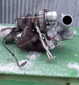 Турбина на мерседес 651 двигатель
