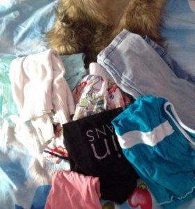 Пакет вещей на девочку 4-5 лет