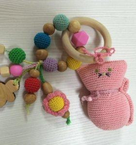 Развивающая игрушка грызунок