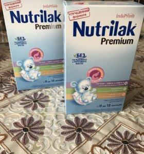 Смесь Nutrilak от 0 до 6мес (в наличии 4 шт)