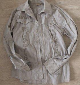 Рубашка на мальчика р-р 12-14 лет, рост 158-164