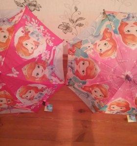 Новые детские зонты