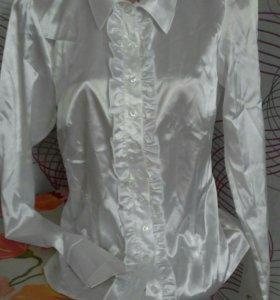 Блузка шелк новая