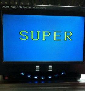 Автомобильный телевизор-монитор LCD