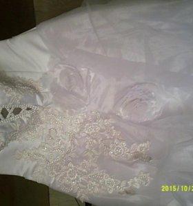 Свадебное платье пышное новое