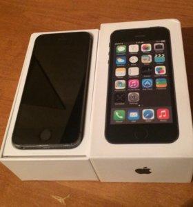 iPhone 5s 32gb space gray Ростест