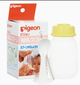 Бутылочка с ложкой ф. Pigeon