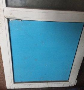 Пластиковая дверь на балкон ( лоджию )