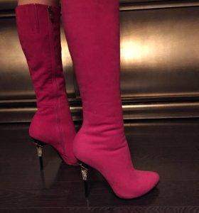 Розовые сапожки новые!