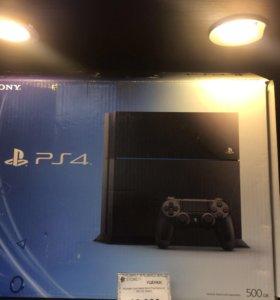 Sony PlayStation 4. 500gb black