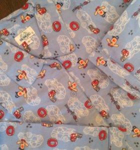 Пижама фланелевая новая 158-164 рост