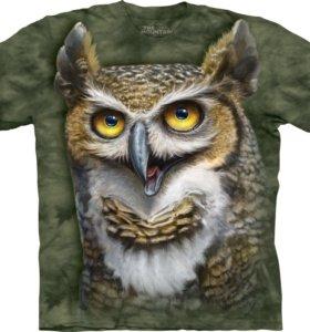 Футболка Wise Owl - Сова.