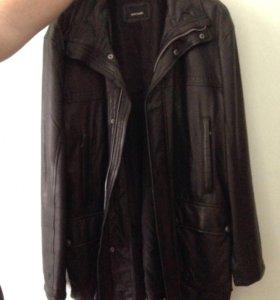 Мужская кожаная куртка торг уместен