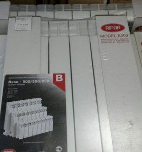 Радиаторы RIFAR Base 500х80х100, монтаж