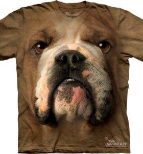 Футболка с собакой Bulldog Face.