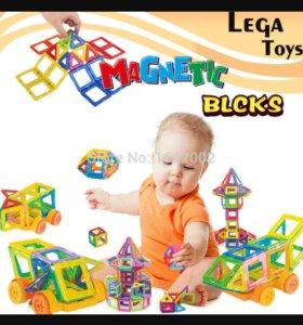 Конструктор магнитный  Magnetic Bloks 32 детали