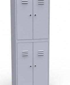 Шкафчки для раздевалки на 4 ячейки