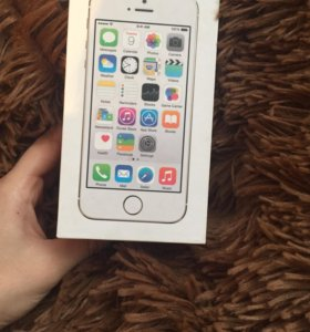 IPhone5s gold коробка