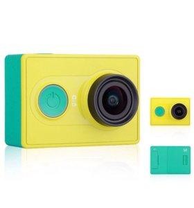 Экшн камера Xiaomi YI+ аквабокс