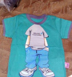 новые футболки на мальчика