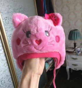 Шапочка кошечка для девочки