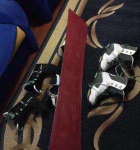 Сноуборд комплект
