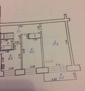 Сдам двухкомнатную квартиру ул Победы д2