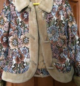 Куртка из гобелена