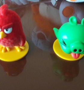 Игрушки злые птички