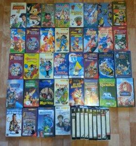 Кассеты DVD мультики