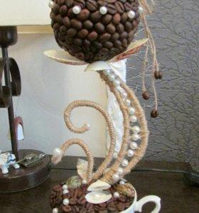 Топиарий кофейная жемчужина