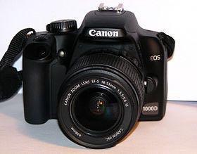 Фотоаппарат зеркалка Canon 1000D