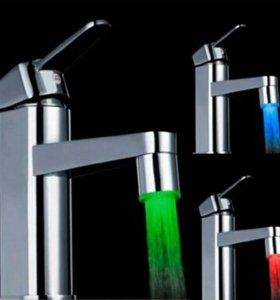 Насадка на кран Подсветка воды