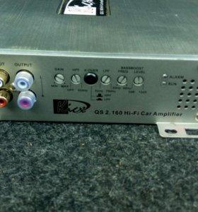 Усилитель двухканальный kicx qs 2.160