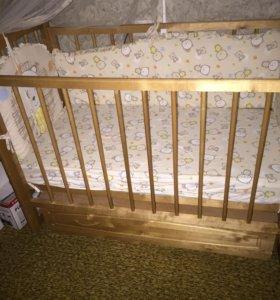 Срочно Кроватка детская