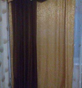Продам шторы и ламбрекен
